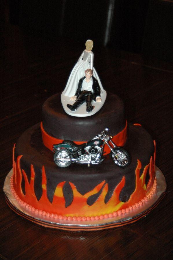 harley motorcycle Grooms Cake Harley Davidson Grooms Cake Cake