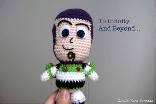 Free Amigurumi Disney Patterns : Crochet pattern: lil' buzz lightyear amigurumi crochet