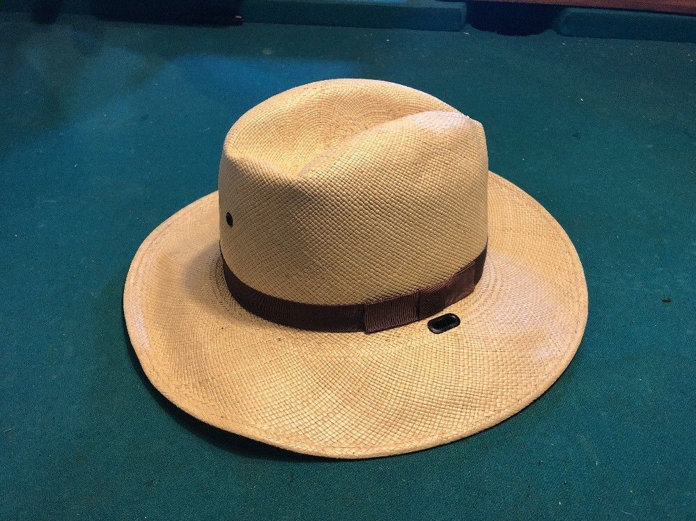 754e72ca Stetson HAT Straw Sheriff Cowboy Hat 6 3/4 (KHAKI) Southern Lawman #fashion  #clothing #shoes #accessories #vintage #vintageaccessories (ebay link)