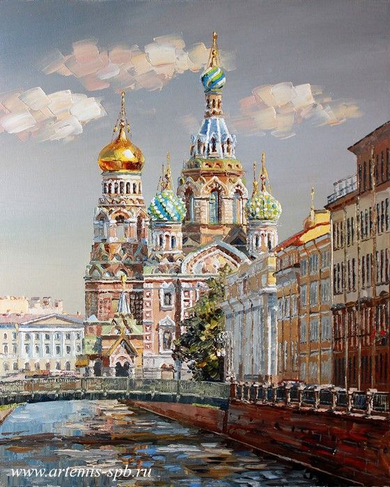 Городской пейзаж. Виды Санкт-Петербурга   Пейзажи ...