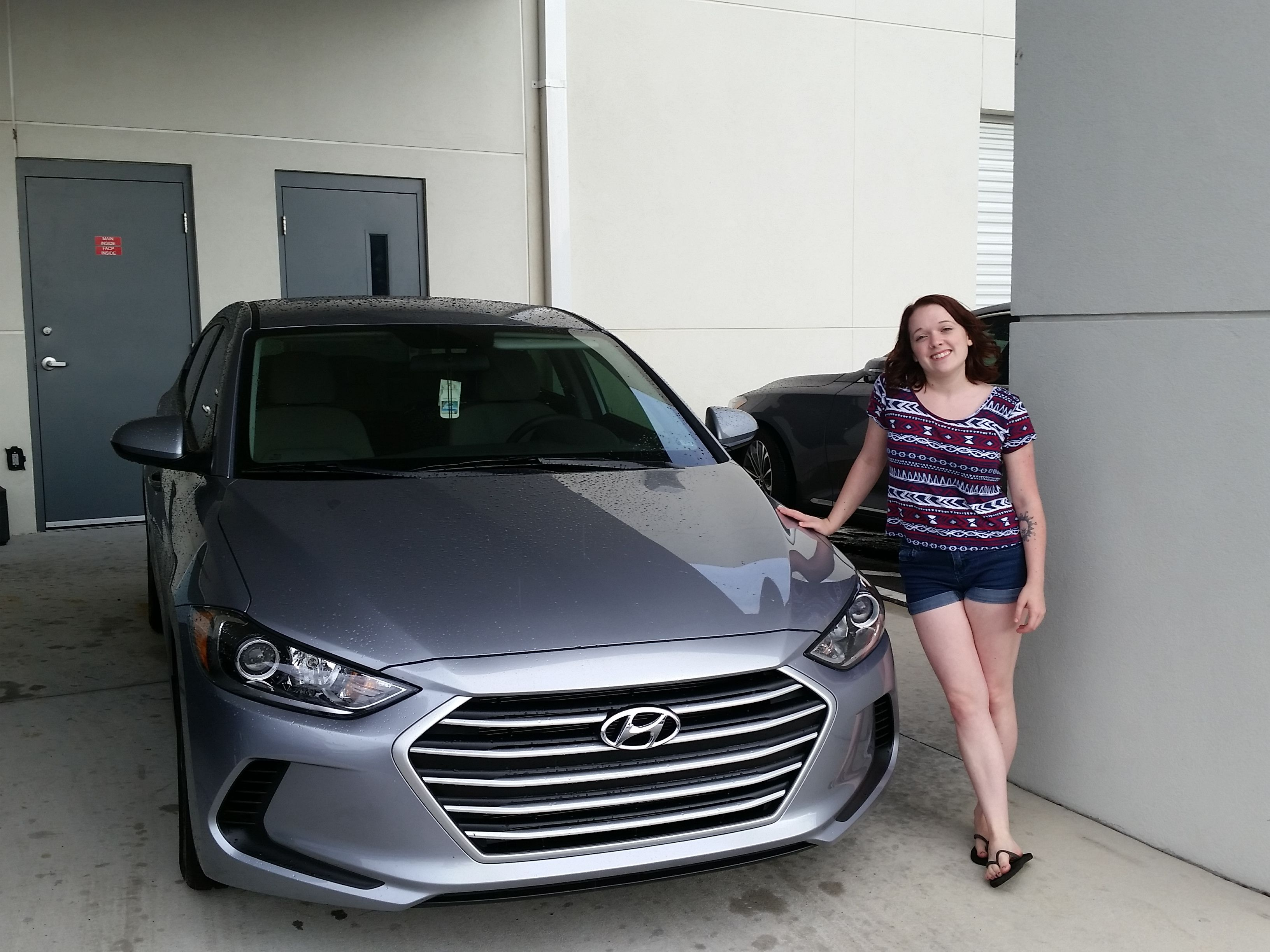 Big thanks to Morgan McLeod for coming to Lakeland Hyundai and ...
