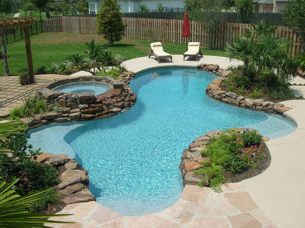 Love Everything About This Landscaping Waterfall From