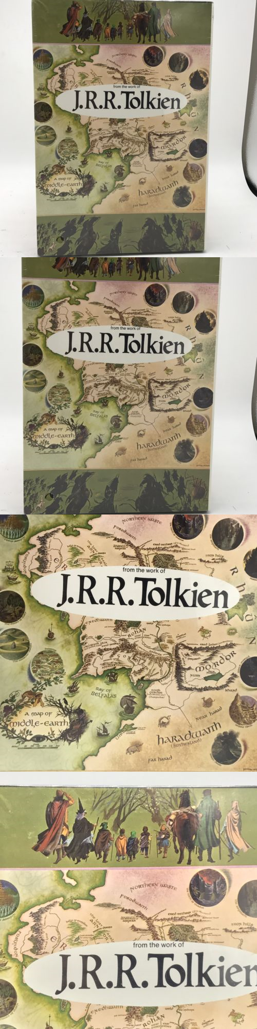 Jigsaw 19189 JRR Tolkien Puzzel Map Of Middle Earth Hobbit
