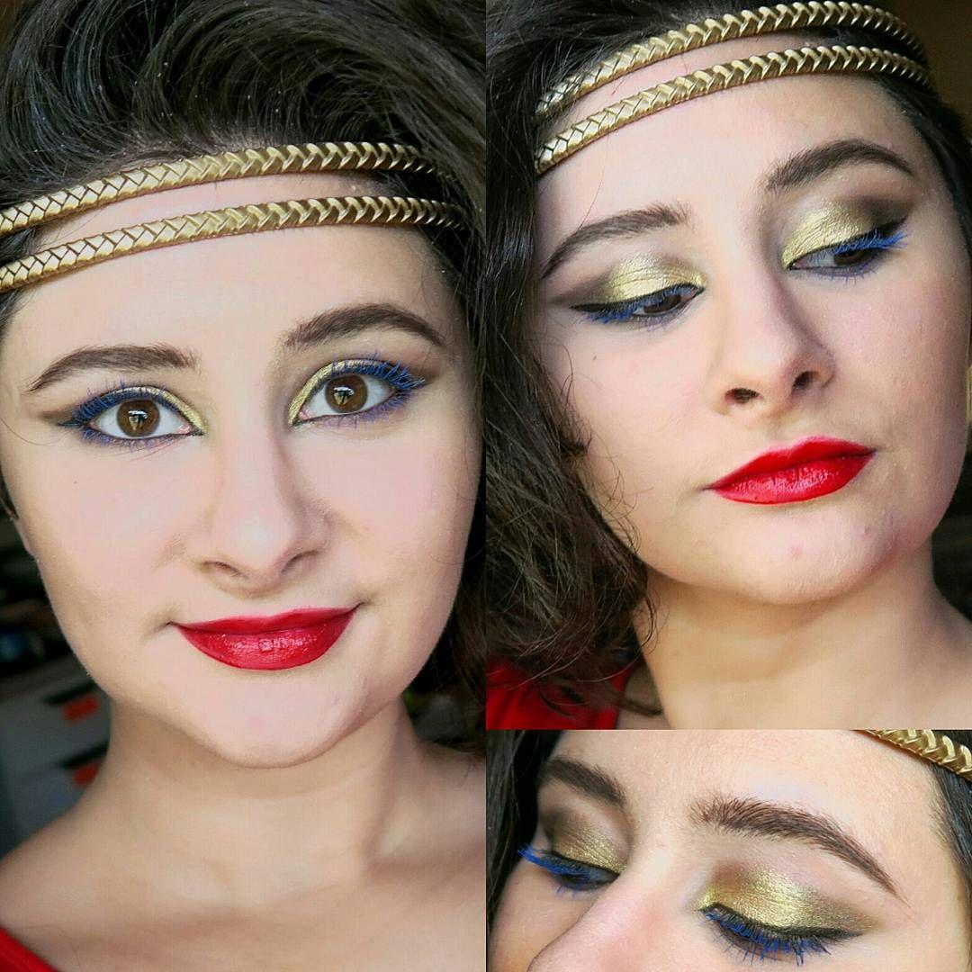 Wonder Woman Inspired Makeup Makeup inspiration, Makeup