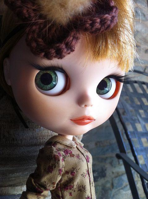 Blythe Nicky Lad. Amélie in process. by ♥**Monica **♥, via Flickr