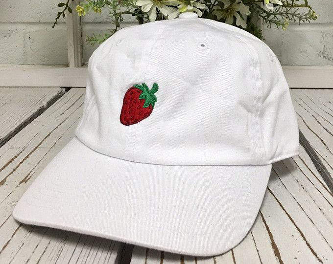 baseball caps wholesale uk for sale online strawberry dad hat hipster trending hats fashion embroidery fruit fitted big heads