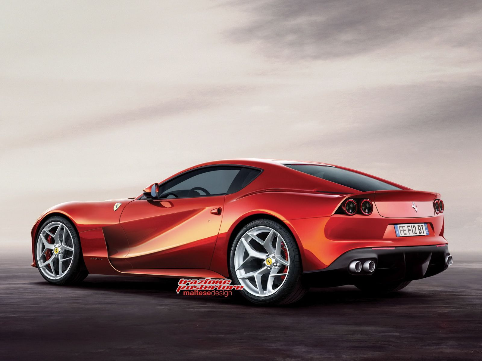Upcoming Ferrari F12M Might Borrow Cues From The GTC4 Lusso ...