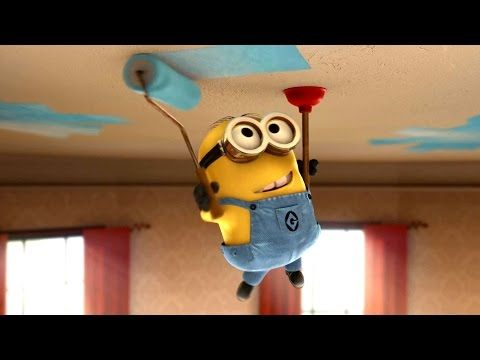 MINIONS Christmas Song - YouTube | Minions | Pinterest | Clips ...