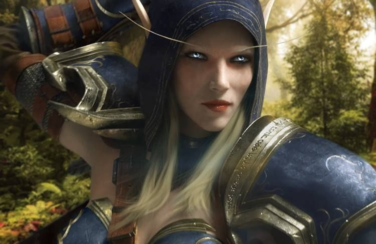 World Of Warcraft Wallpaper Bfa: Sylvanas Windrunner The High Elf Ranger General Of Quel