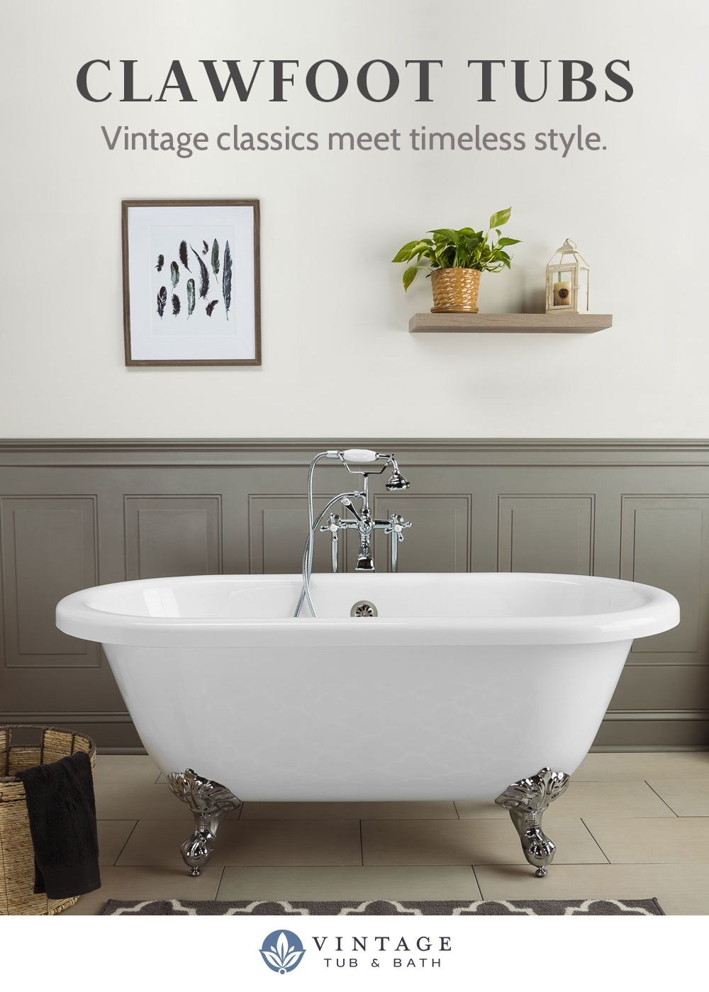 Shop The Best Selection Of Clawfoot Tubs Today Prices Starting At