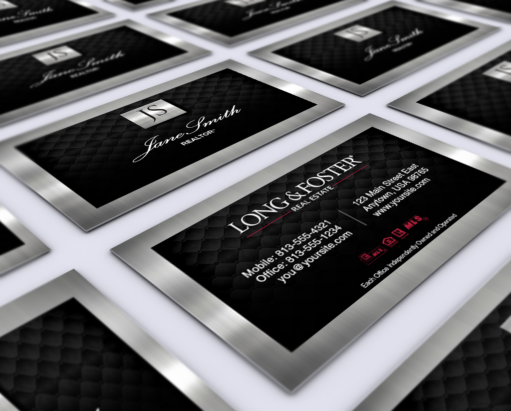 Check Out Our New Long And Foster Business Cards Realtor Longandfoster Realestate Realtors Realty Business Cards Online Online Design Printing Services
