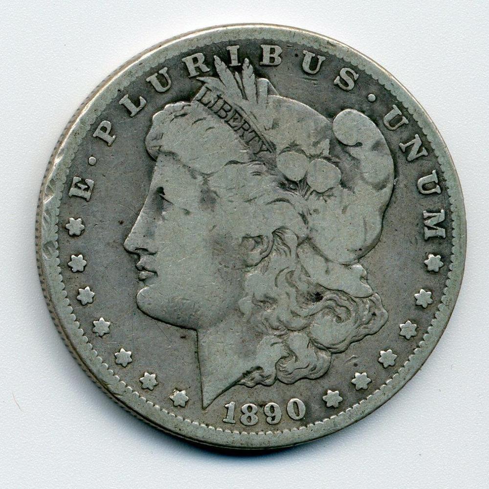 1890 CC Carson City KEY DATE 1 SILVER Dollar
