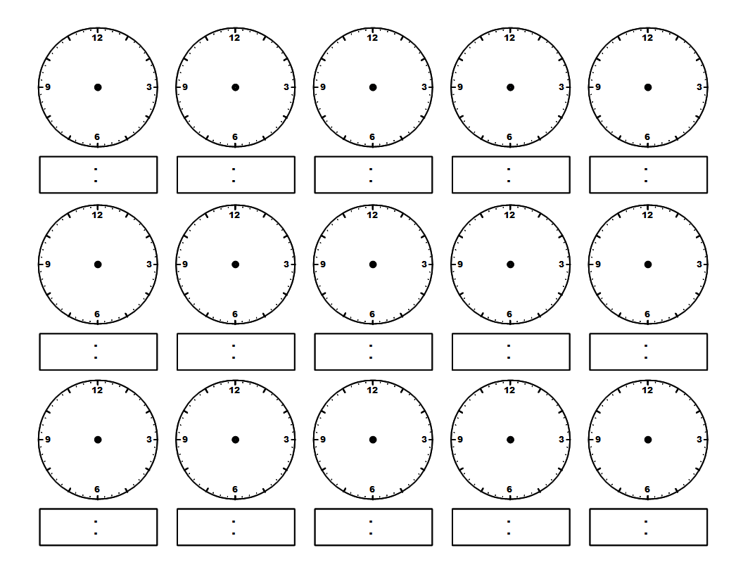 Use worksheets. Here is a terrific telling time worksheet ...