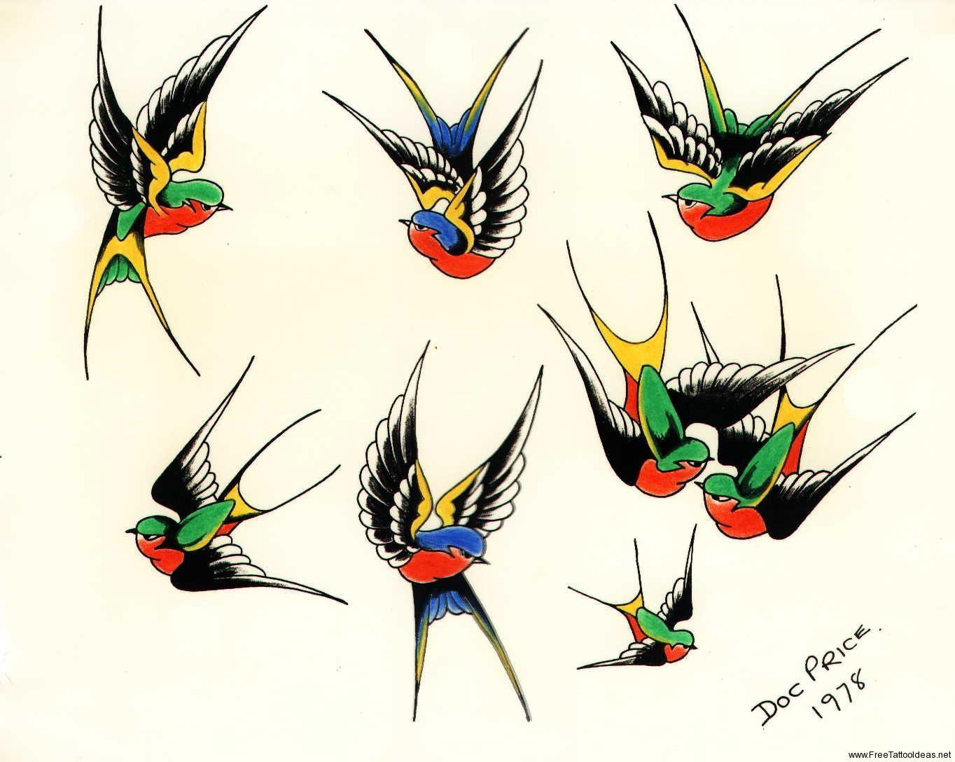 Birds Tattoos For You Sparrow Bird Tattoo Designs