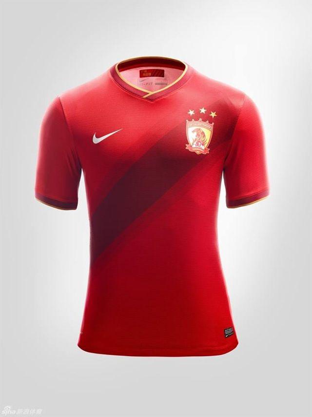 b8edff563 Camisas do Guangzhou Evergrande para o Mundial de Clubes 2013 ...
