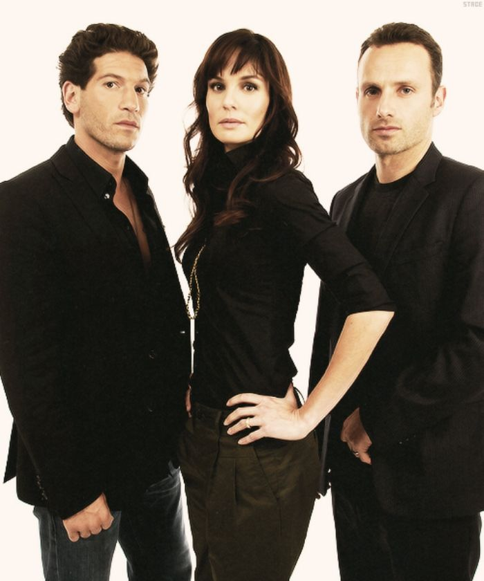 "Jon Bernthal, Sarah Wayne Callies, and Andrew Lincoln - ""The Walking Dead"""
