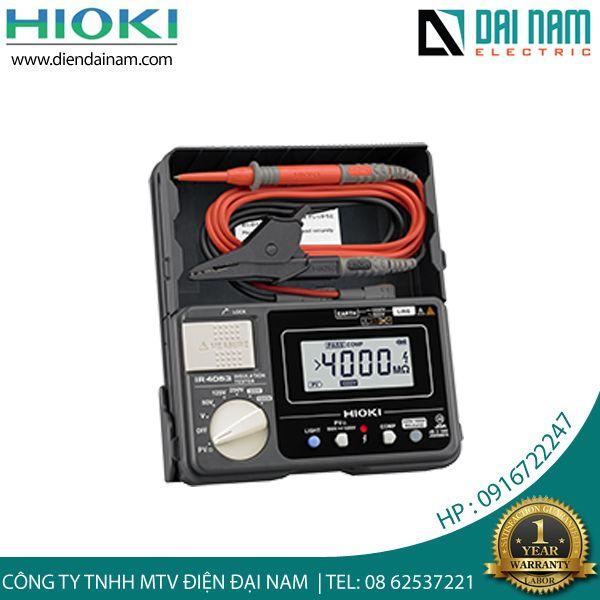 Hioki IR 4053 đo cách điện hạ thế hiện số