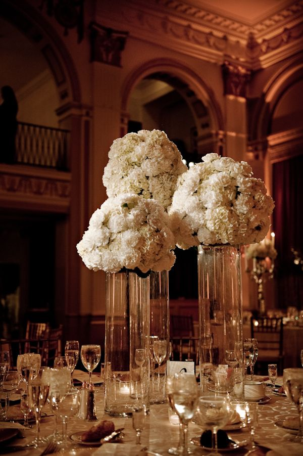 reception tabletop details white floral centerpieces wedding table centerpieces with flowers and candles Candle Arrangements for Wedding Reception