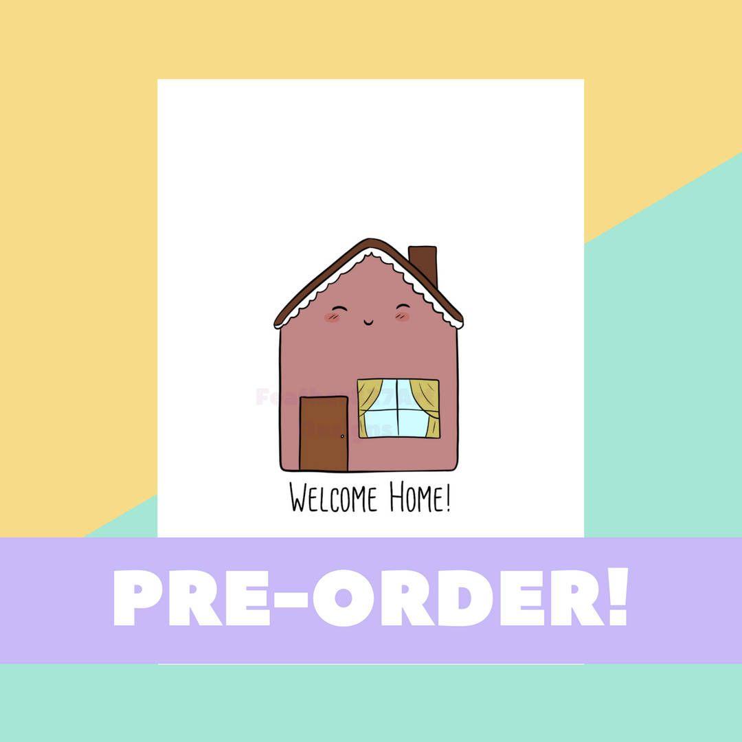 Welcome Home! - JW Welcome Home Card, New Home Card, Housewarming ...