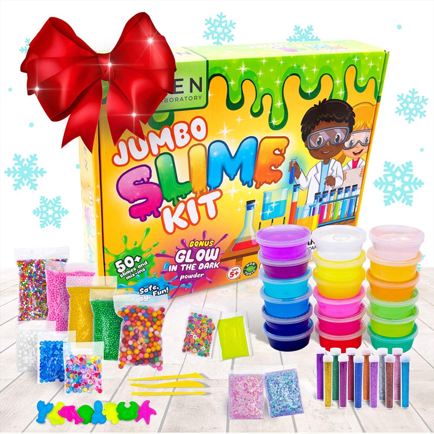 DIY Make Your Own Creative Slime Putty Kids Toy Christmas Gift Play Lab Kit A.21