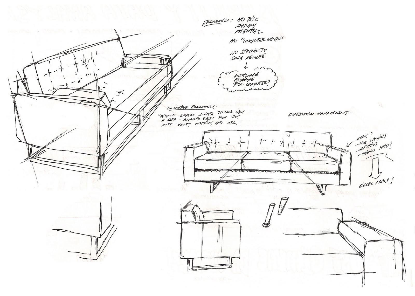 Ergonomics For A Coffee Table Maxohome Furniture Design Sketches Design Sketch Diagram Design