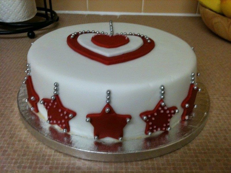 82+ Mouthwatering Christmas Cake Decoration Ideas 2019