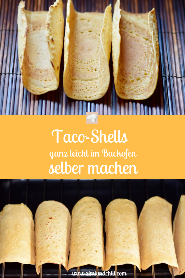 Photo of Simply make taco shells in the oven yourself – cinnamon & chili