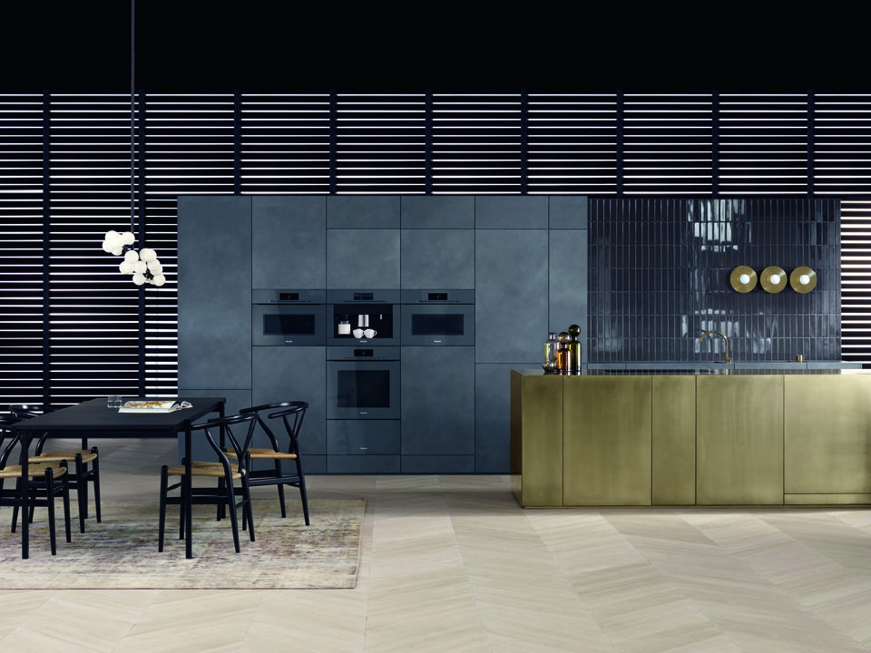Epic miele artline k che kitchen reduktion reduction design schwarz