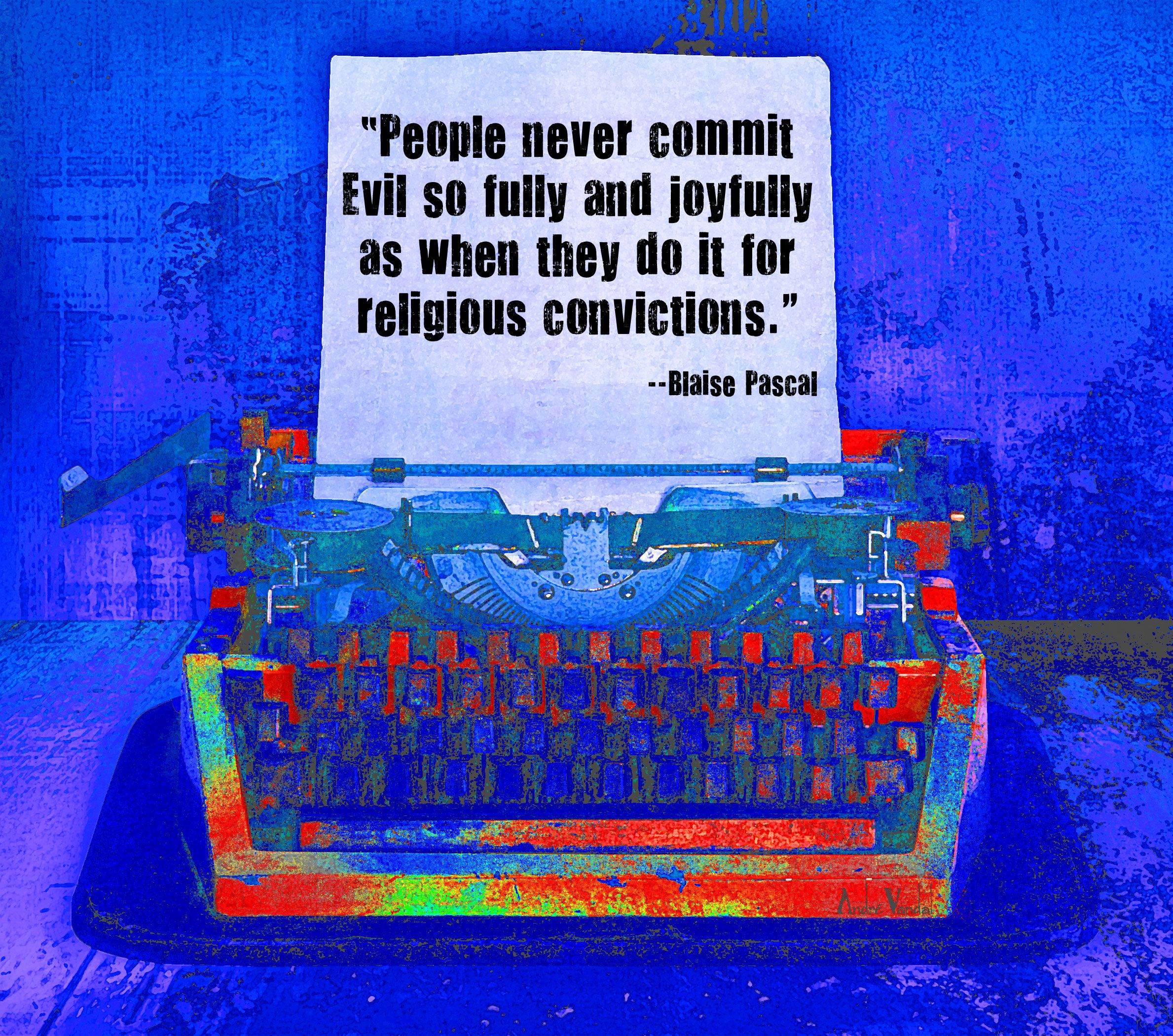 Evil religion
