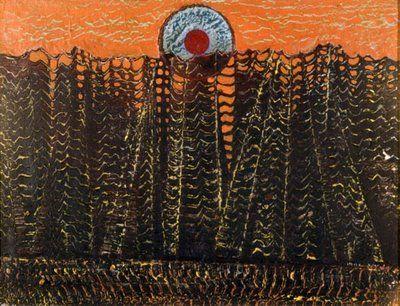 Max Ernst - Las, 1927, surrealizm