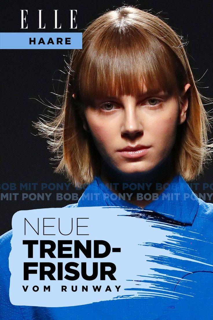 Die Neue Trendfrisur Pob So Schon Ist Der Bob Mit Pony Haare