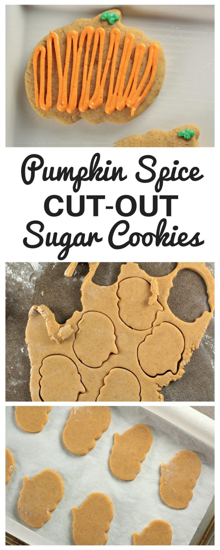 Pumpkin Spice Sugar Cookies - Mindy's Cooking Obsession