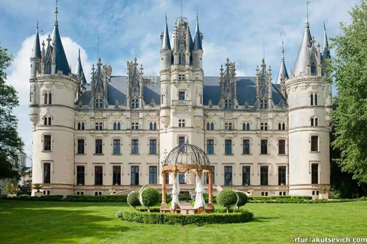 Beautiful French Castles Castle House Beautiful Castles