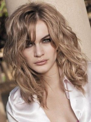 Nice Medium Wavy Lace Front Human Hair Wig Wig Haircut Styles And