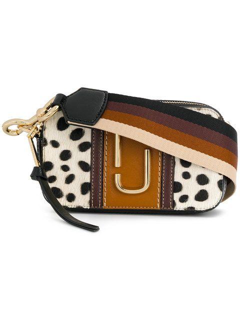 MARC JACOBS camera bag. #marcjacobs #bags #shoulder bags #fur #