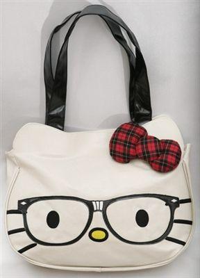 0553118970 Hello Kitty Nerd Face Tote Bag