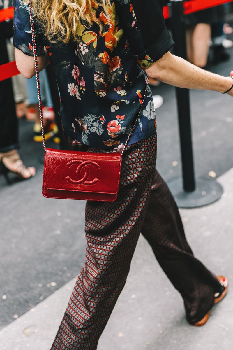Street Style : print & check combinations of co-ordinated colour    Saved by Gabby Fincham   