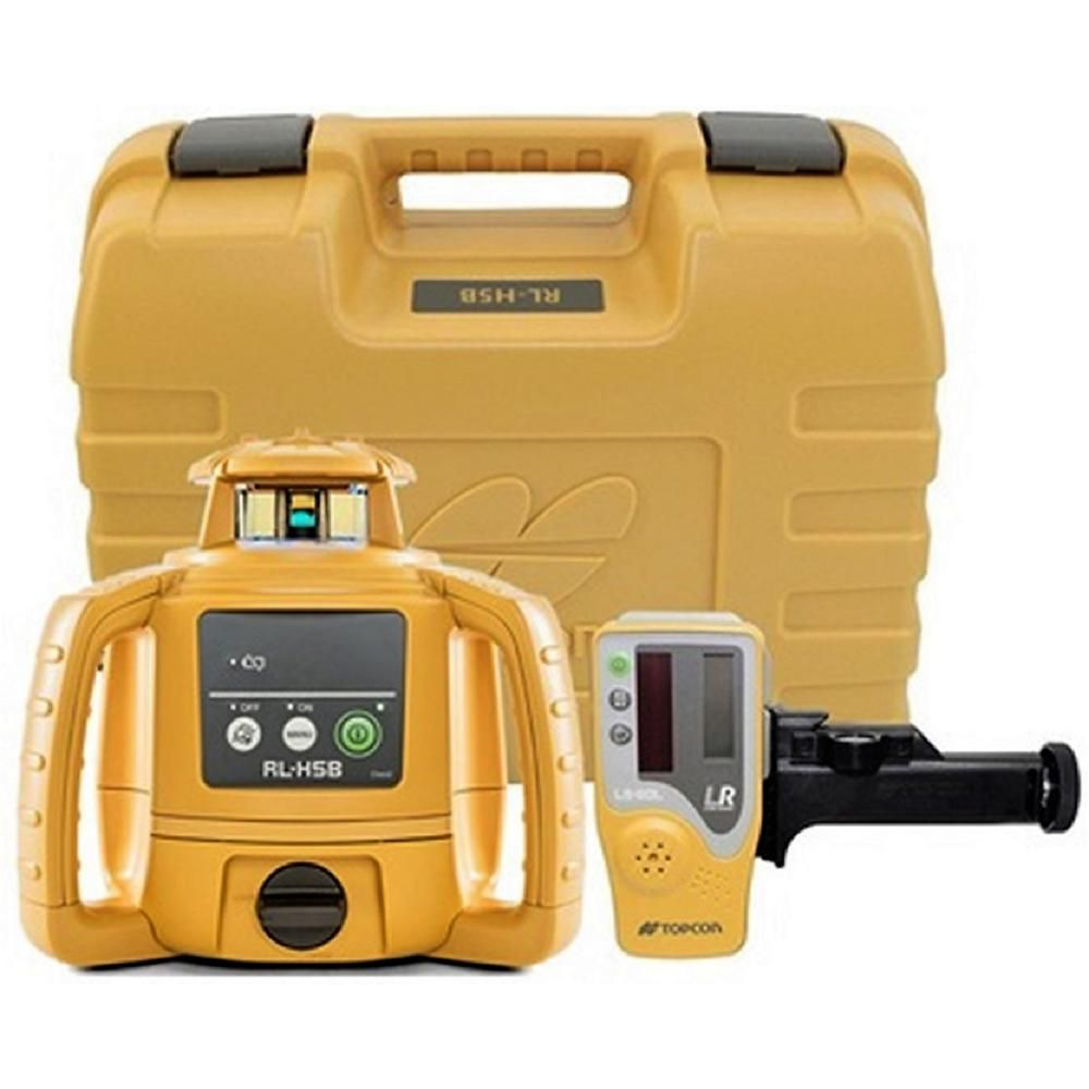 Topcon Rl H5b Horizontal Self Leveling Rotary Laser Level 1021200 31 Rotary General Construction Red Beam
