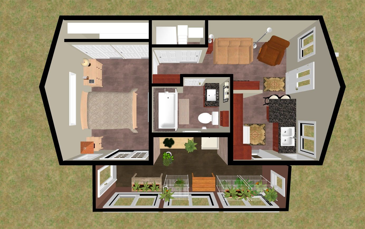 Home floor plans with secret rooms for Planshouse