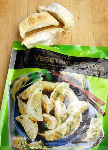 Trader Joe's Thai Vegetable Gyoza in 2019 | Vegan Trader Joe's
