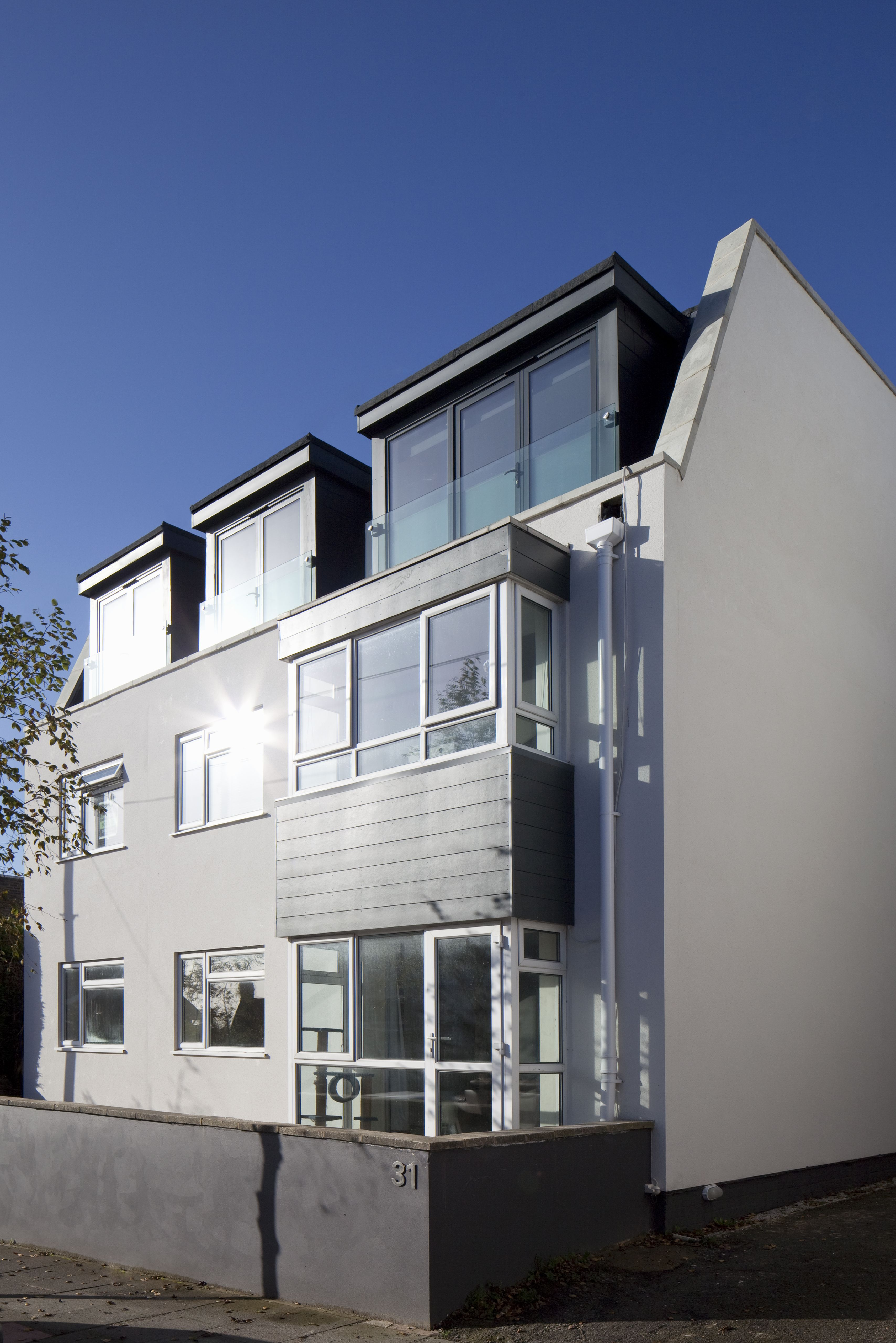 Modern New Build Apartments Flats With Residential Scale