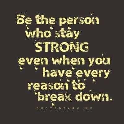 Break down