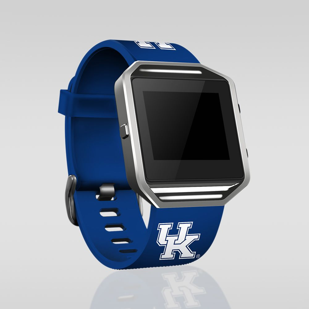 Kentucky Wildcats Silicone Sport Band For Fitbit Blaze