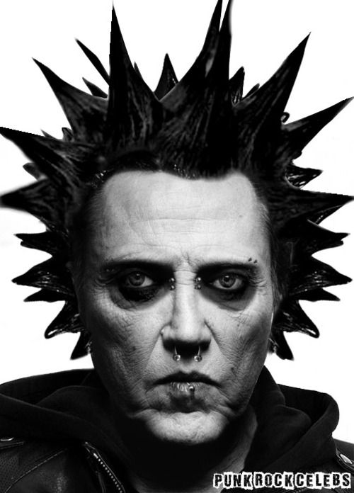 punk rock christopher walken needs more cowbell though funny things pinterest cowbell. Black Bedroom Furniture Sets. Home Design Ideas