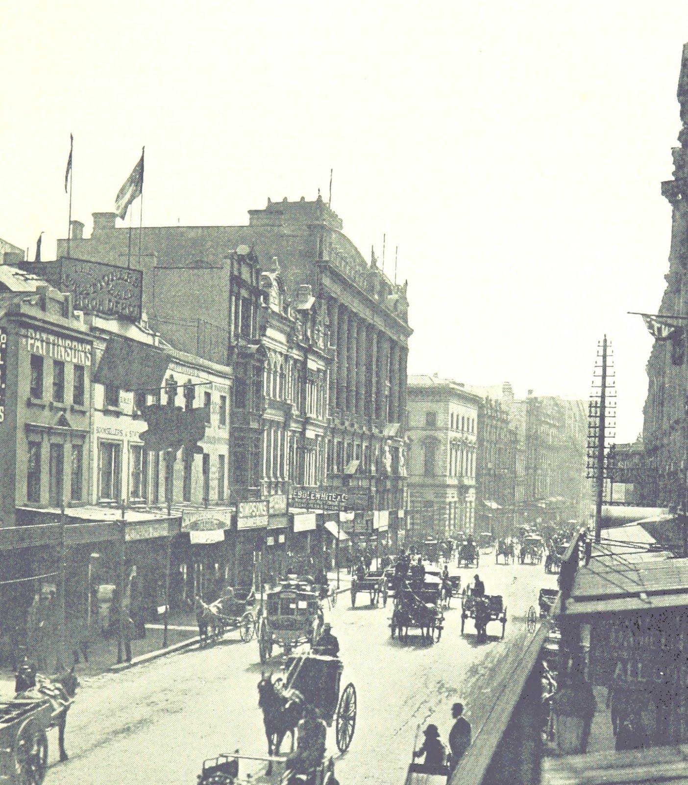 Street Sydney 1895 Old photos, Historical