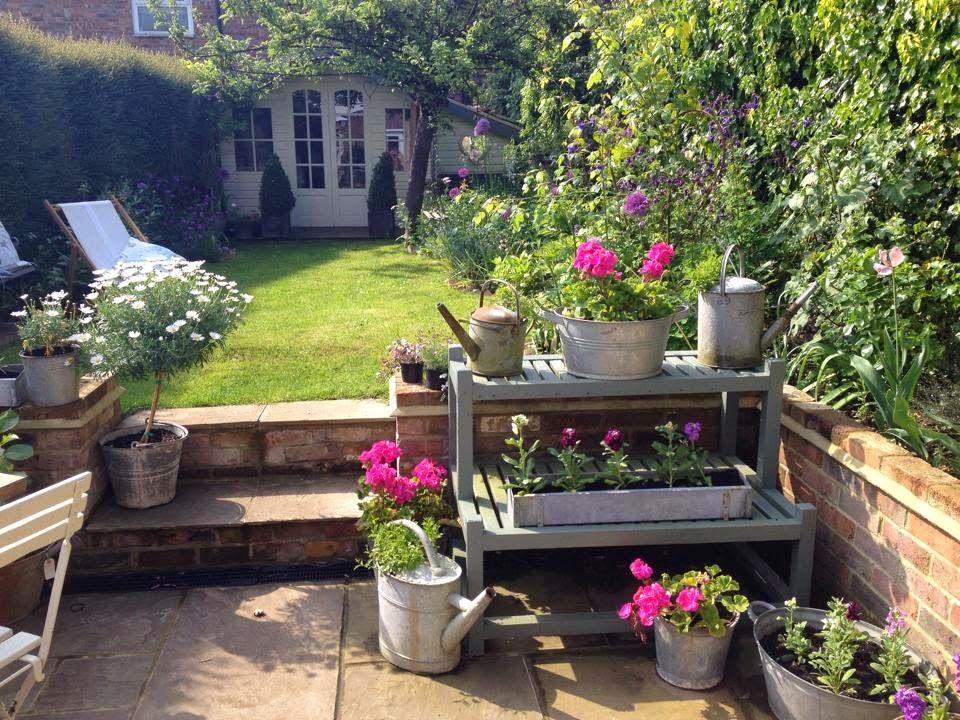 Planting Galvanised Tubs Cottage Garden Garden Spaces Patio Garden