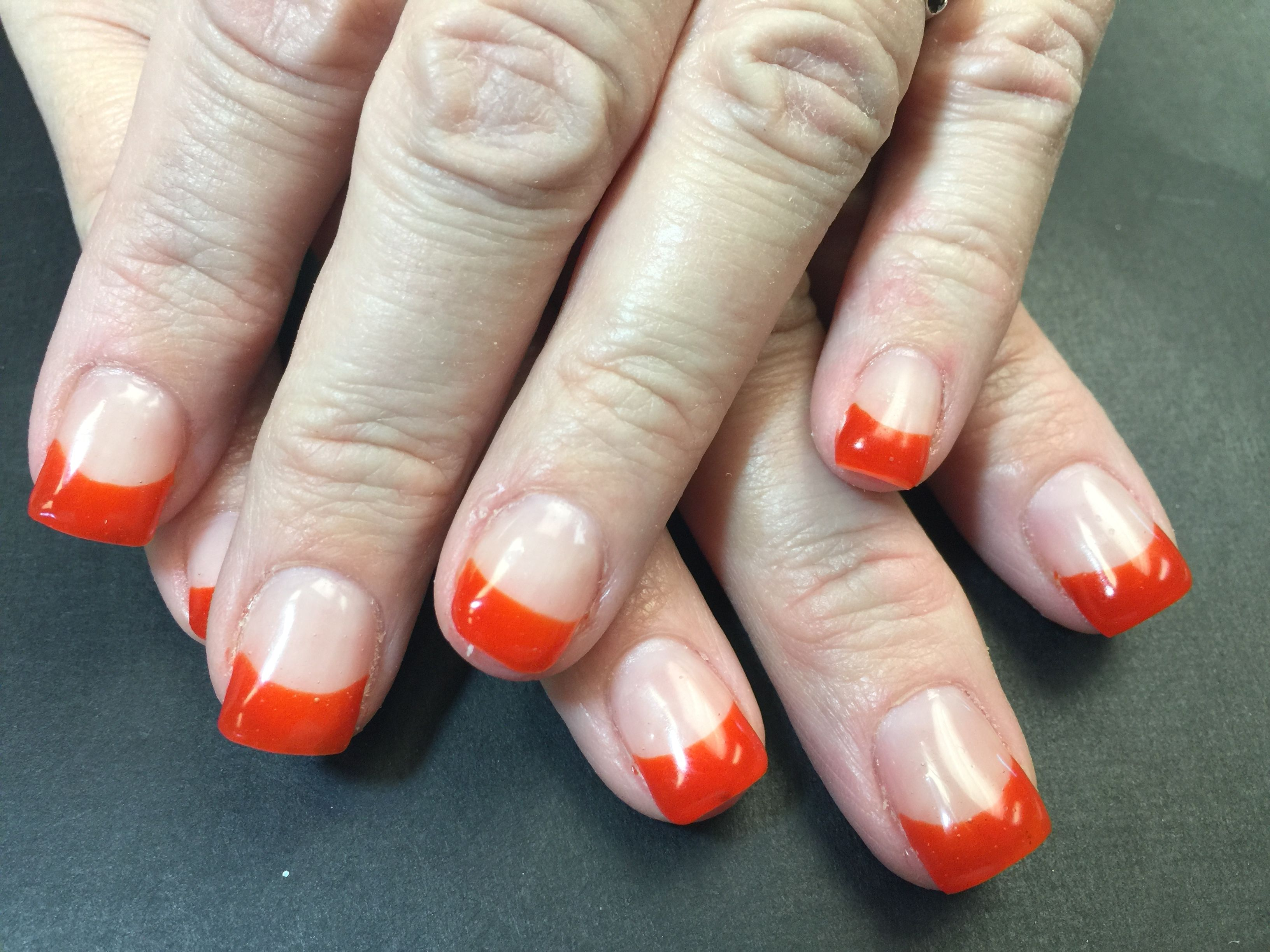 Simple but nice nails | Gel nails by Kim- Quintessence | Pinterest