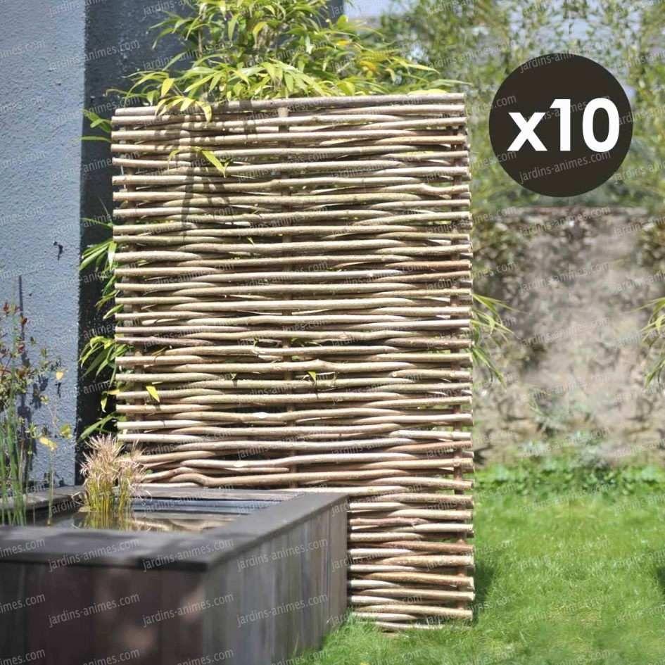 100 Remarquable Concepts Panneau Noisetier Tressé Pas Cher