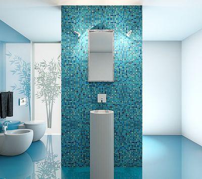 Image Result For Bad Gefliest Gruen Mosaik Fliesen Bad Badezimmer Mosaikfliesen