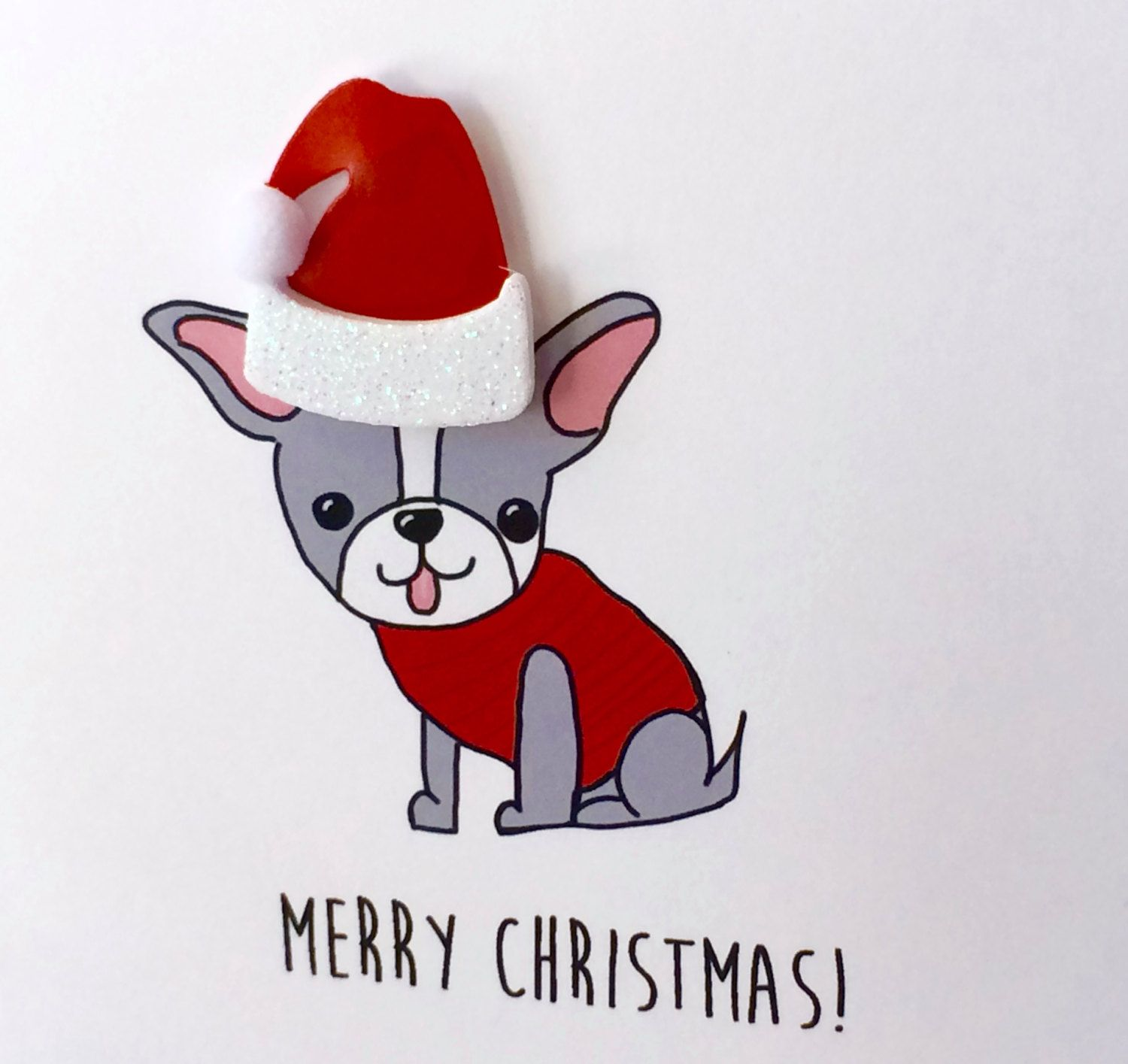 Merry Christmas from the Boston Terrier, From the Dog, Boston ...